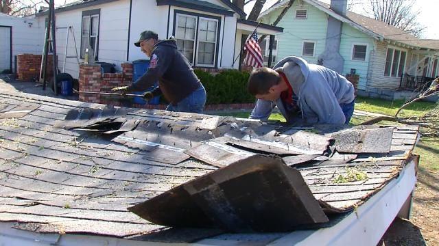 West Tulsa Neighborhood Moving Forward After Storm Damage