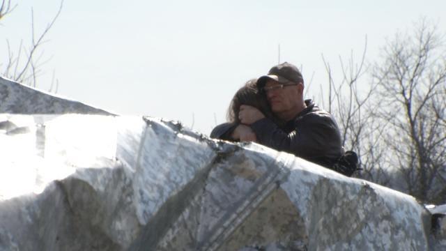 Family Of Man Killed In Sand Springs Tornado Returns Home