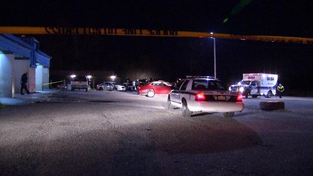 Police: Man Shot To Death Outside North Tulsa Bar