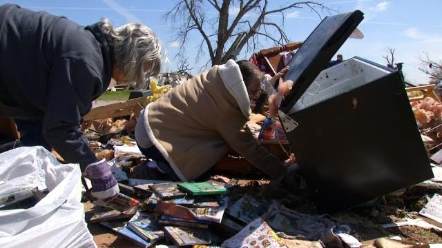 Sand Springs Man Killed In EF-2 Tornado, Father Survives