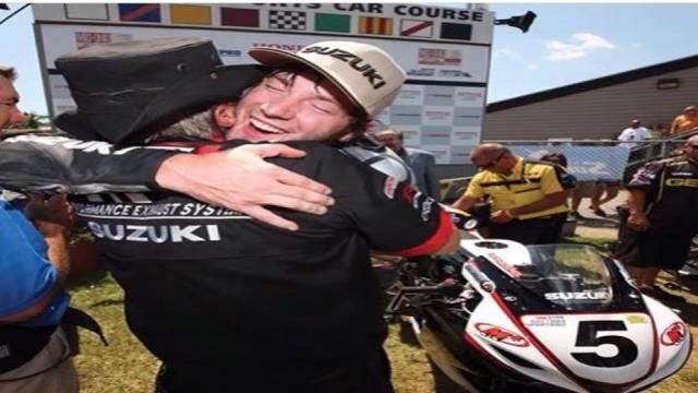 Tulsa Pro Motorcycle Racer Takes Final Ride With Family, Friends