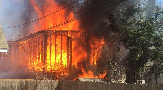 Firefighters Put Out Midtown Tulsa Garage Fire