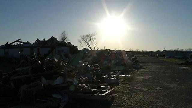 Sand Springs 'Takes Care Of Its Own,' Tornado Survivor Says