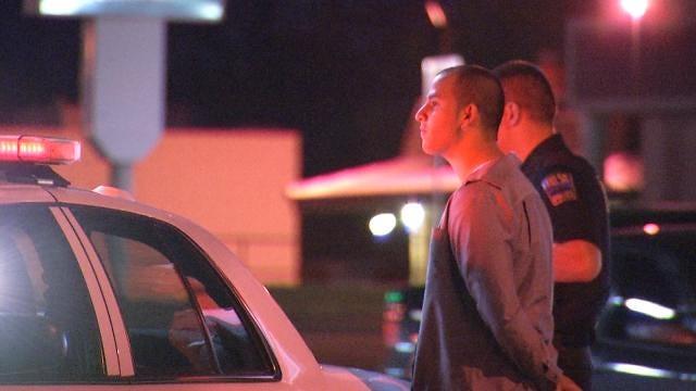 Tulsa Man Arrested, Passenger Bails In Traffic Stop