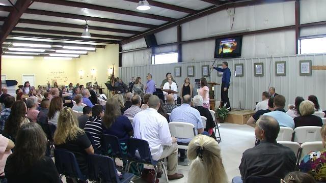 Keystone Hills Baptist Church Praises God Through Storm