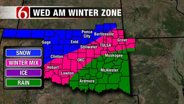Alan Crone's Weather Blog: Snow, Sleet Back In The Forecast