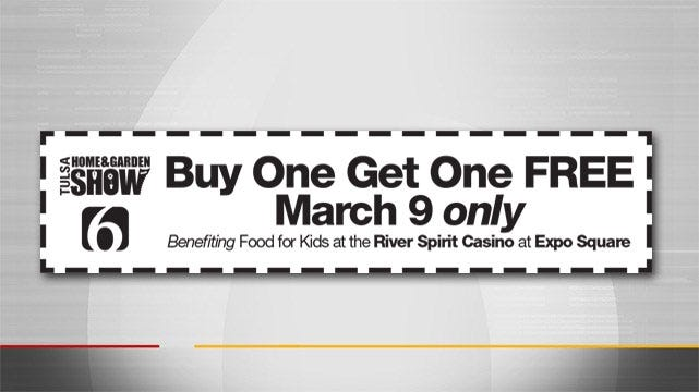 Support Food For Kids At 2017 Tulsa Home And Garden Show