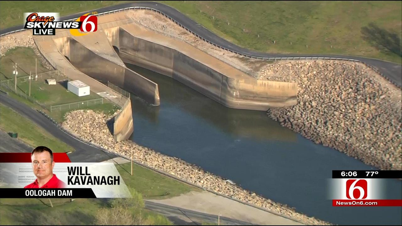 Fishing Spot Below Oologah Dam Closed For Construction