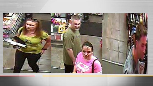 Four Thieves Steal $1,000 In Merchandise From Tulsa Store