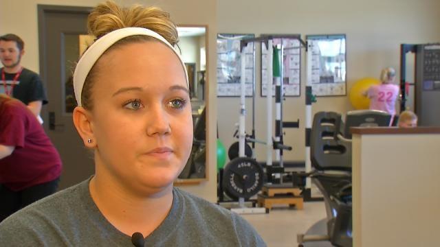 Sand Springs Student Braves Weather To Help Stranger