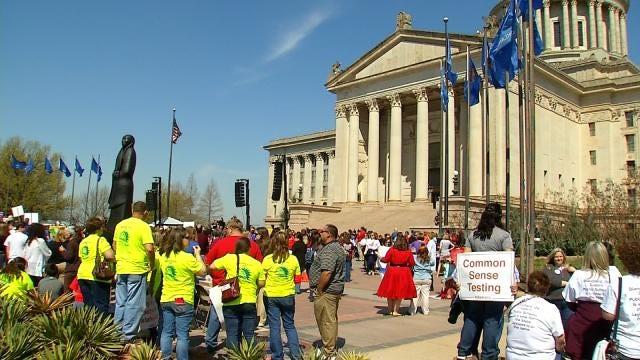 Teacher Rally Had One Message: Improve Oklahoma's Public Education