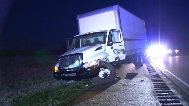 Trucks Collide On Highway 412 Near Inola, Both Drivers Injured
