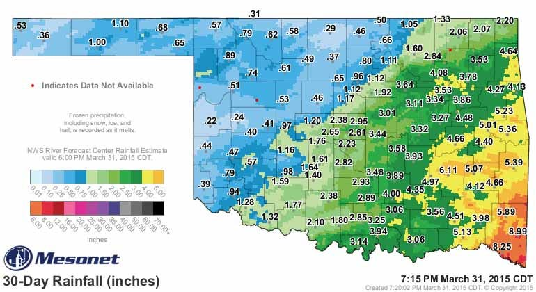 Dick Faurot's Weather Blog: Warm March, Warm Start To April