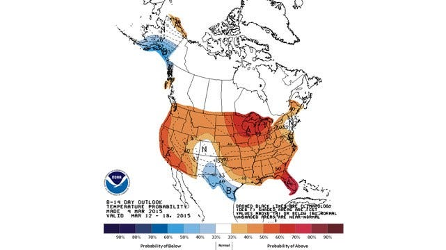 Dick Faurot's Weather Blog: Warming Trend