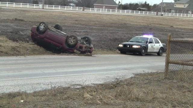 Speed, Slick Roads Combine For Several Green Country Wrecks
