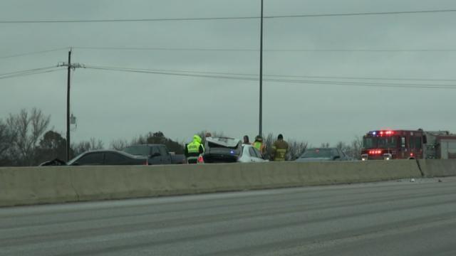 Tulsa Police Work Multiple Car Crashes
