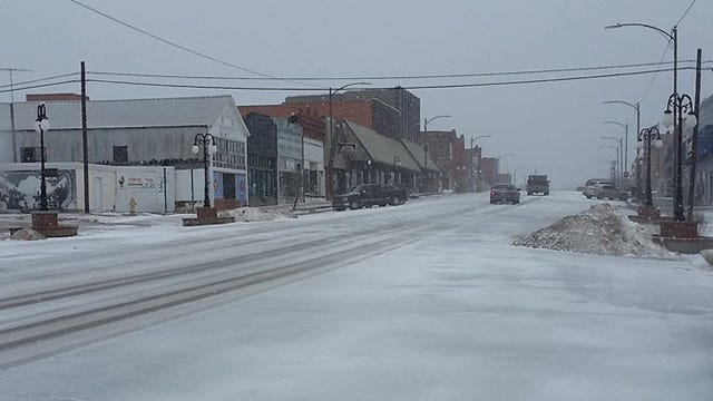 Tulsa, State Road Crews Treating Roads After Winter Storm Slams Into Oklahoma