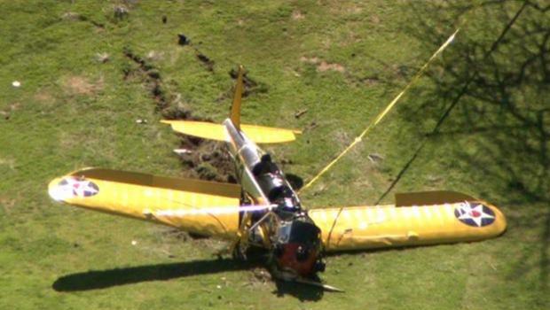 Actor Harrison Ford Injured In Crash Landing On Golf Course