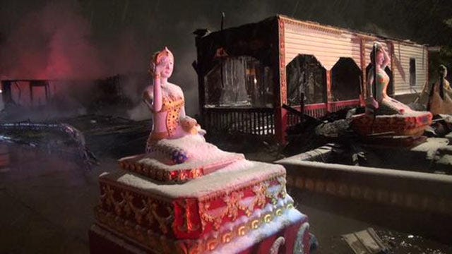 Monk Dies In Fire In Fort Smith Buddhist Temple