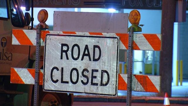 Tulsa Water Department Fixes 12-Inch Water Main Twice