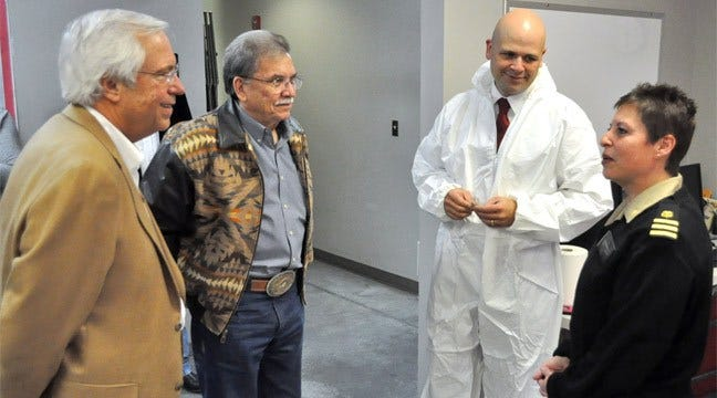 Claremore Nurse Returns From Stint In Liberia Caring For Ebola Workers