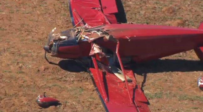 Pilot, Passenger Not Hurt In Plane Crash Southeast Of Bixby