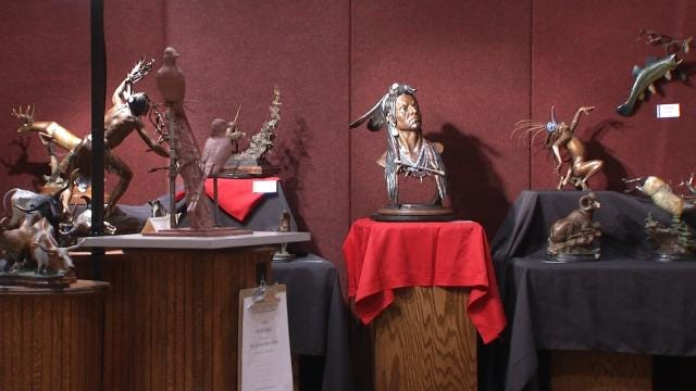 Annual Tulsa NatureWorks Show Boasts World-Renowned Art