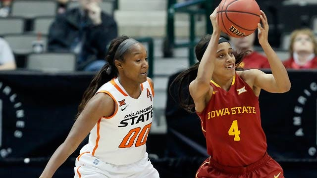 OSU Women Advance To Big 12 Semifinals After 67-58 Win Over Iowa State