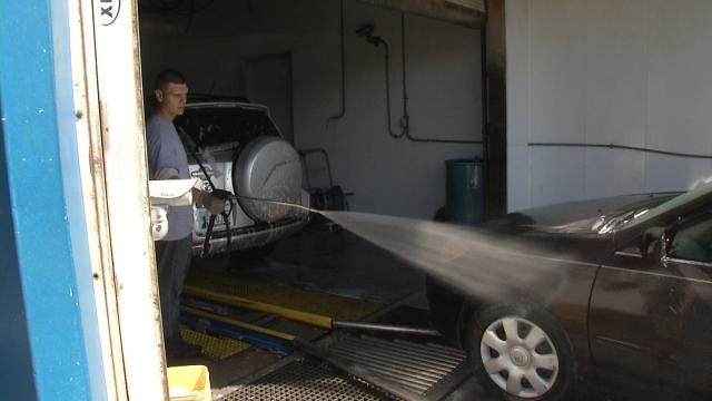 Winter Blast Sends Green Country To Car Wash Lines