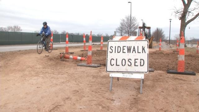 RiverParks Trails Close As 'The Gathering Place' Construction Begins