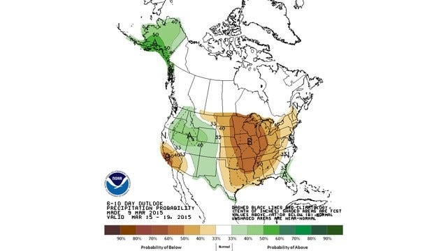 Dick Faurot's Weather Blog: Cooler, Drier Than Normal So Far