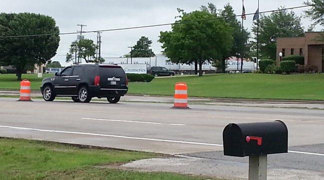 Businesses Evacuated In Blue Bell Ice Cream Ammonia Leak