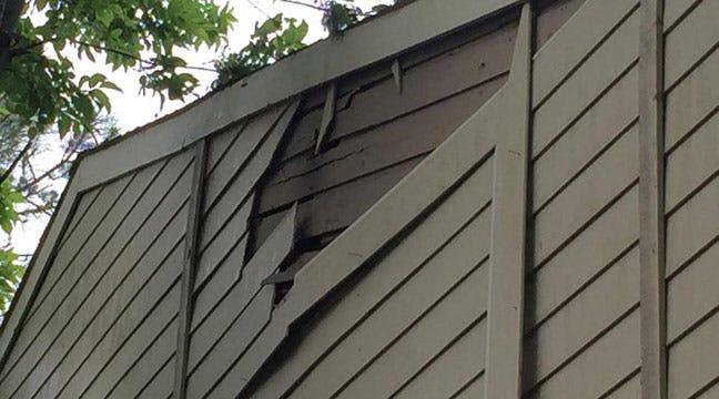 Lightning Strikes Damage Owasso Home, Tulsa Apartment