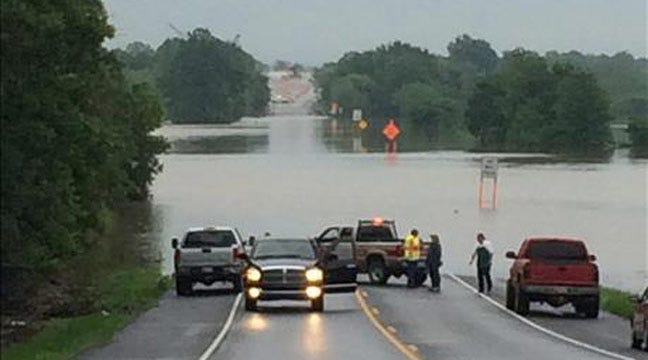 Road Closures, Power Outages Reported In Eastern Oklahoma