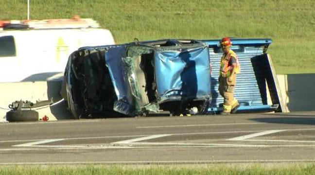 Dropped Cell Phone Leads To Chain-Reaction Tulsa Crash