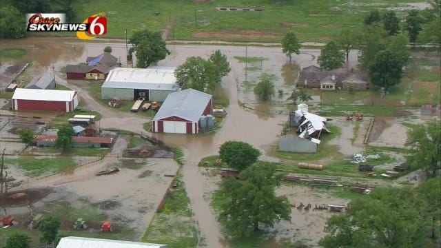 Flood Waters Creating Problems For Okmulgee County Residents