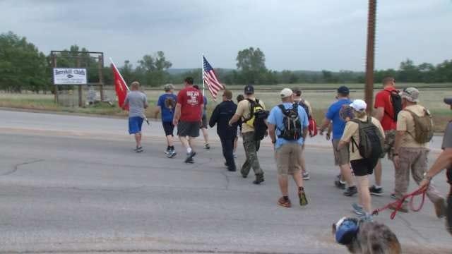 Jared Shoemaker Memorial Walk Begins In Tulsa