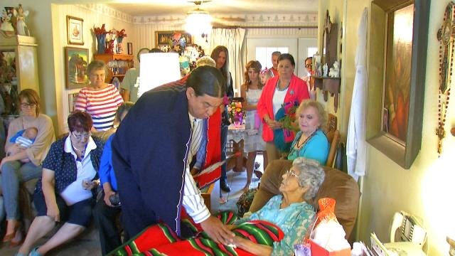 Osage 100-Year Blessing Ceremony Honors Oklahoma Woman