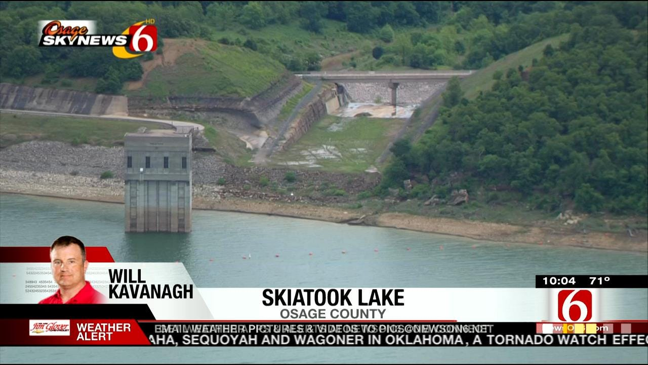 Osage SkyNews 6 Gives Aerial Tour Of Green Country Lakes After Rain
