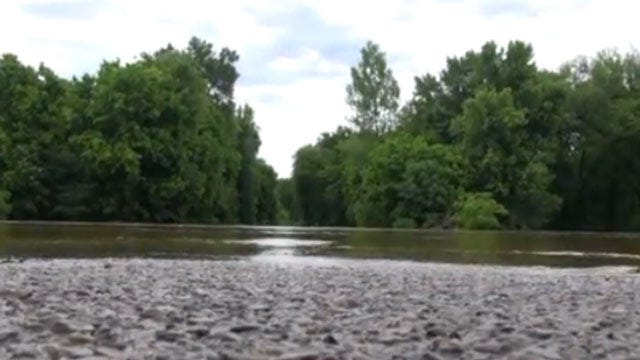 Sequoyah County Officials Survey Flooded Roads And Bridges