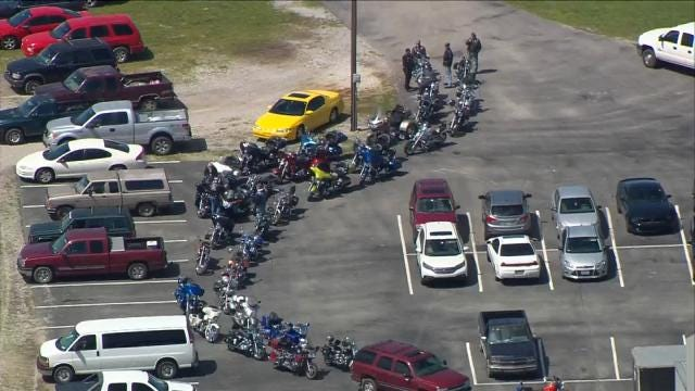 Bikers Show Support For Motorcyclist Killed In Tulsa Crash