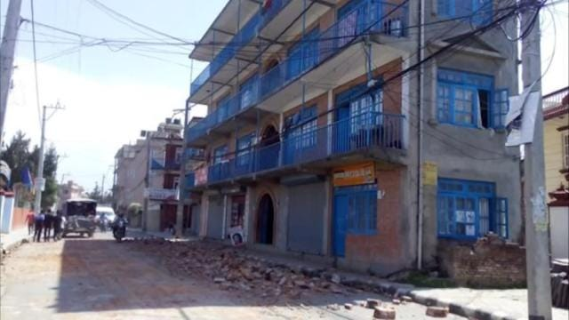 Deadly Aftershock Hits Quake-Rattled Nepal