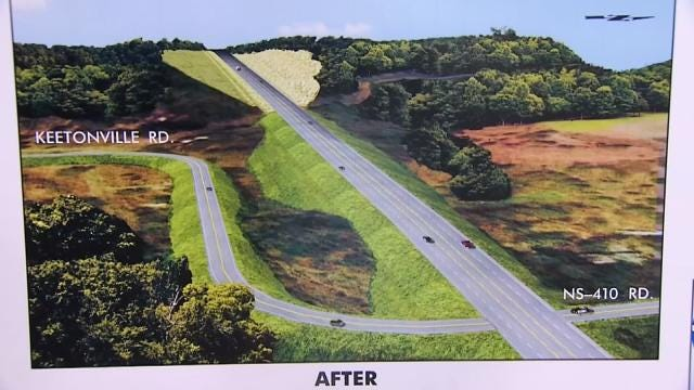 ODOT Looks To Improve Busy, Dangerous Rogers County Road
