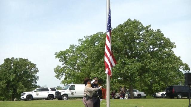 Twelve Fallen Tulsa County Deputies Honored At Annual Service