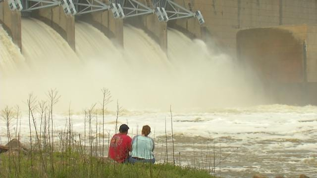 Water Pouring Out Of Eufaula Dam Most In 25 Years