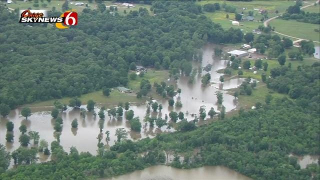Rain Moving In Brings Flash Flood Risk Across Green Country