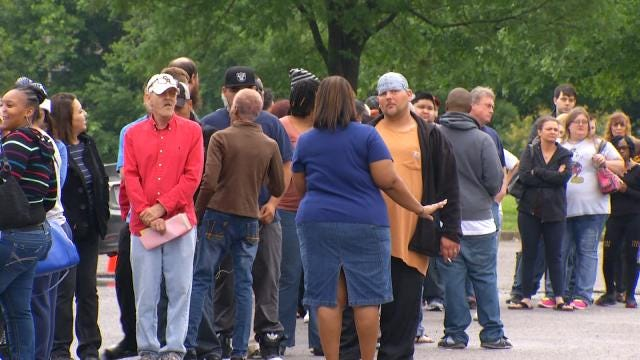 Fourth City Of Tulsa Amnesty Court Has Overwhelming Turnout