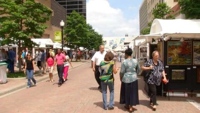 Mayfest Begins In Downtown Tulsa