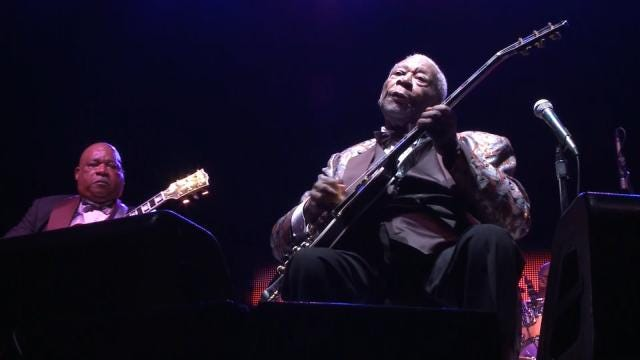 Blues Guitarist B.B. King Dead At 89