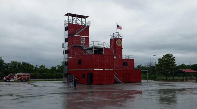 New Training Facility Helps Muskogee Firefighters Prepare